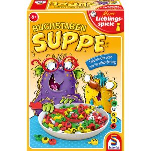 Meine Lieblingsspiele: Buchstabensuppe