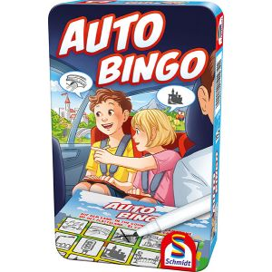 Auto Bingo (Bring-mich-mit-Spiel in der Metalldose)