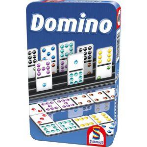 Domino (Bring-mich-mit-Spiel in der Metalldose)