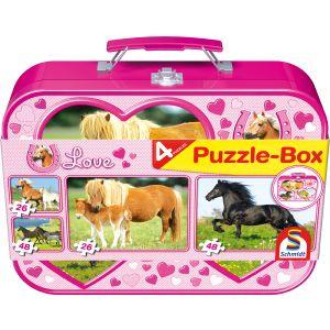 Puzzle-Box: Pferde