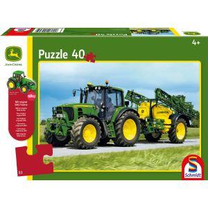 Traktor 6630 mit Feldspritze