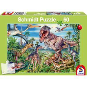 Bei den Dinosauriern