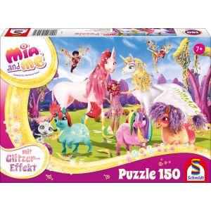 Mia and me: Ankunft der Pony-Einhörner (mit Glitzereffekt)