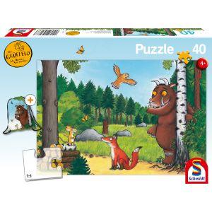 Der Grüffelo: Kinderpuzzle mit Turnbeutel