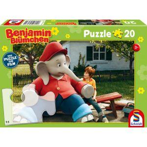 Benjamin Blümchen - Puzzle zum Film, Ferien im Zoo, 20 Teile
