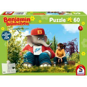 Benjamin Blümchen - Puzzle zum Film, Benjamin und Otto, 60 Teile