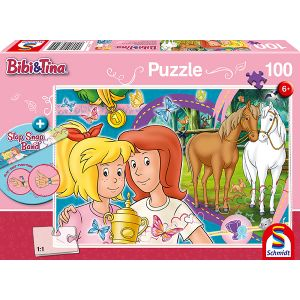 Bibi und Tina: Pferdeglück (inkl. Slap Snap Band bunt)