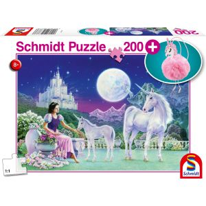 Kinder Puzzle mit add on, Motiv: Einhorn