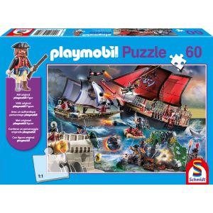 Playmobil, Piraten, 60 Teile, mit Add-on (Original Figur)