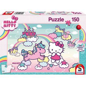 Hello Kitty: Glitzerpuzzle, Kittys Einhorn