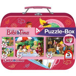 Bibi und Tina: Puzzle-Box im Metallkoffer