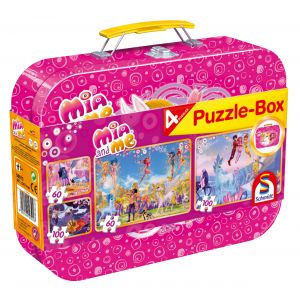 Mia and me: Puzzlebox - im Metallkoffer