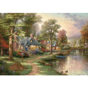 Thomas Kinkade: Am See