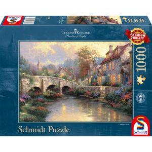 Thomas Kinkade: Bei der alten Brücke