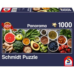 Panorama Puzzle: Auf dem Küchentisch