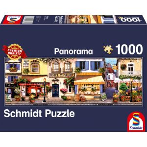 Panorama Puzzle: Spaziergang durch Paris
