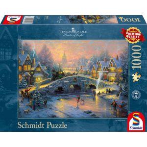 Thomas Kinkade: Winterliches Dorf