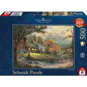 Thomas Kinkade: Idylle am Fluss