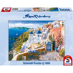 Blick von Santorin