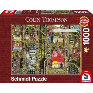 Colin Thompson: Fantastisches Stadtbild