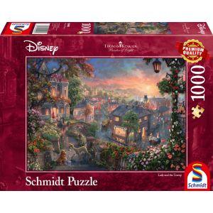 Thomas Kinkade: Disney Susi und Strolch