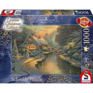 Thomas Kinkade: Am Weihnachtsabend - Limited Edition