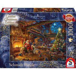 Thomas Kinkade Studios: Der Weihnachtsmann und seine Wichtel - Limited Edition