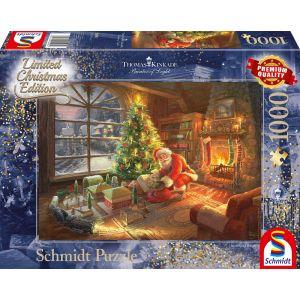 Thomas Kinkade Studios: Der Weihnachtsmann ist da! - Limited Edition