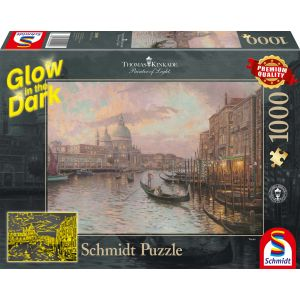 Thomas Kinkade: In den Straßen von Venedig - Glow in the Dark