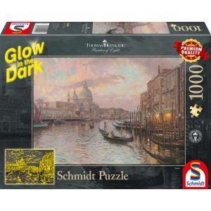 Thomas Kinkade: In den Straßen von Venedig - Glow in the Dark