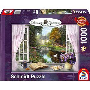 Dominic Davison - Blick in den Schlossgarten
