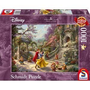 Thomas Kinkade: Disney Schneewittchen - Tanz mit dem Prinzen