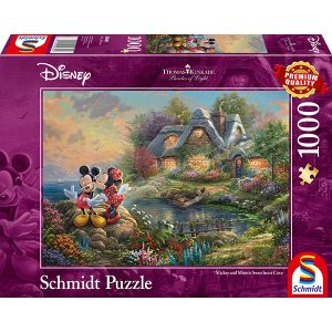 Thomas Kinkade: Disney, Sweethearts Mickey & Minnie