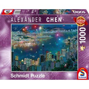 Alexander Chen, Feuerwerk über Hongkong