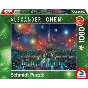 Alexander Chen, Feuerwerk am Eifelturm
