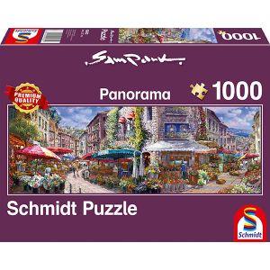 Sam Park, Frühlingsatmosphäre, Panoramapuzzle