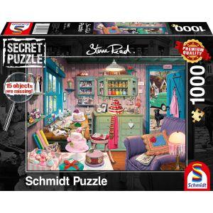 Steve Read: Großmutters Stube - Secret Puzzles