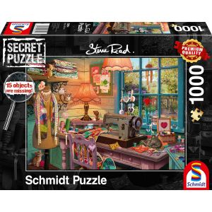 Steve Read: Im Nähzimmer - Secret Puzzles