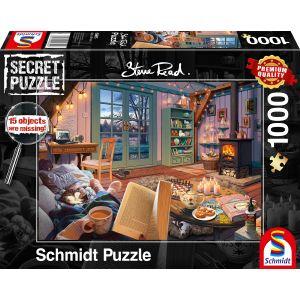 Steve Read: Im Ferienhaus - Secret Puzzles