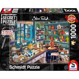 Steve Read: Künstler-Atelier - Secret Puzzles