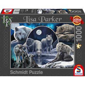 Lisa Parker: Prächtige Wölfe