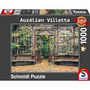 Aurélien Villete - Bewachsene Bogenfenster