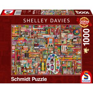 Shelley Davies - Vintage Künstlermaterialien