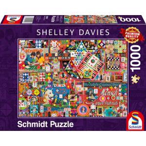 Shelley Davies - Vintage Gesellschaftsspiele