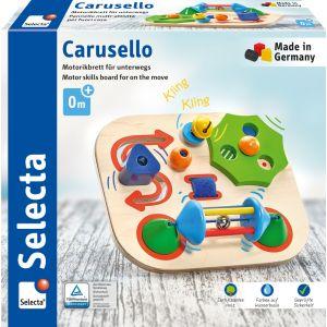 Carusello, Motorikbrett für unterwegs, 19 cm