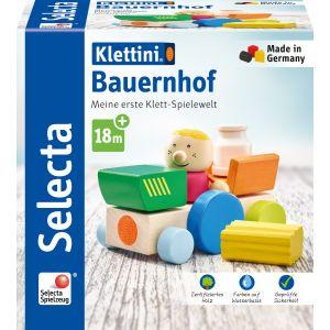 Klettini® Bauernhof, Klett-Stapelspielzeug