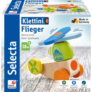 Klettini® Flieger, Klett-Stapelspielzeug